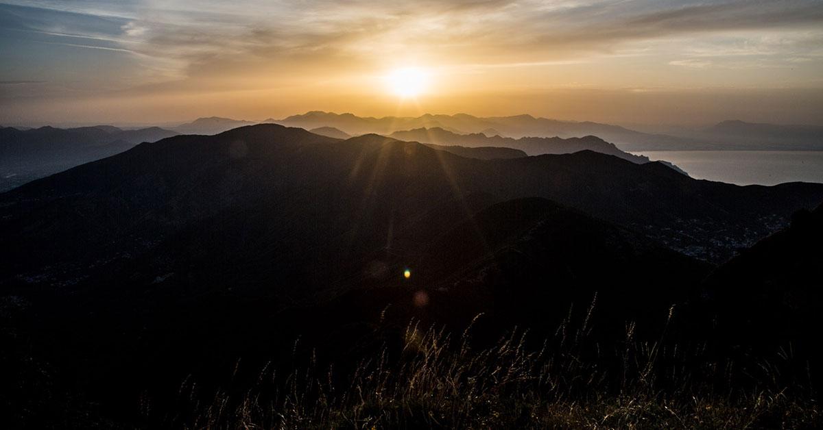 Alba Sul Molare - Monte Faito