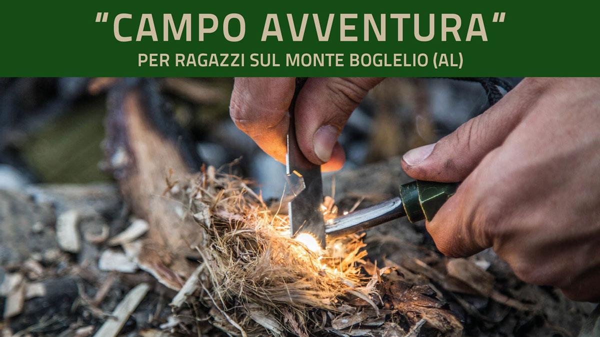 Campo Avventura Per Ragazzi – Monte Boglelio