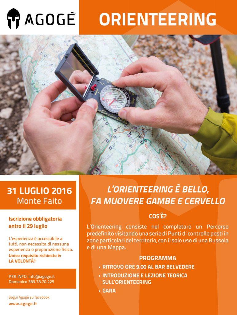 Orienteering - Monte Faito - 31 Luglio 2016