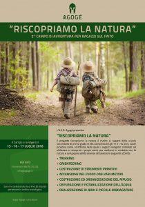 Secondo campo di avventura per ragazzi, che si terrà sul monte faito dal 15 al 17 luglio.