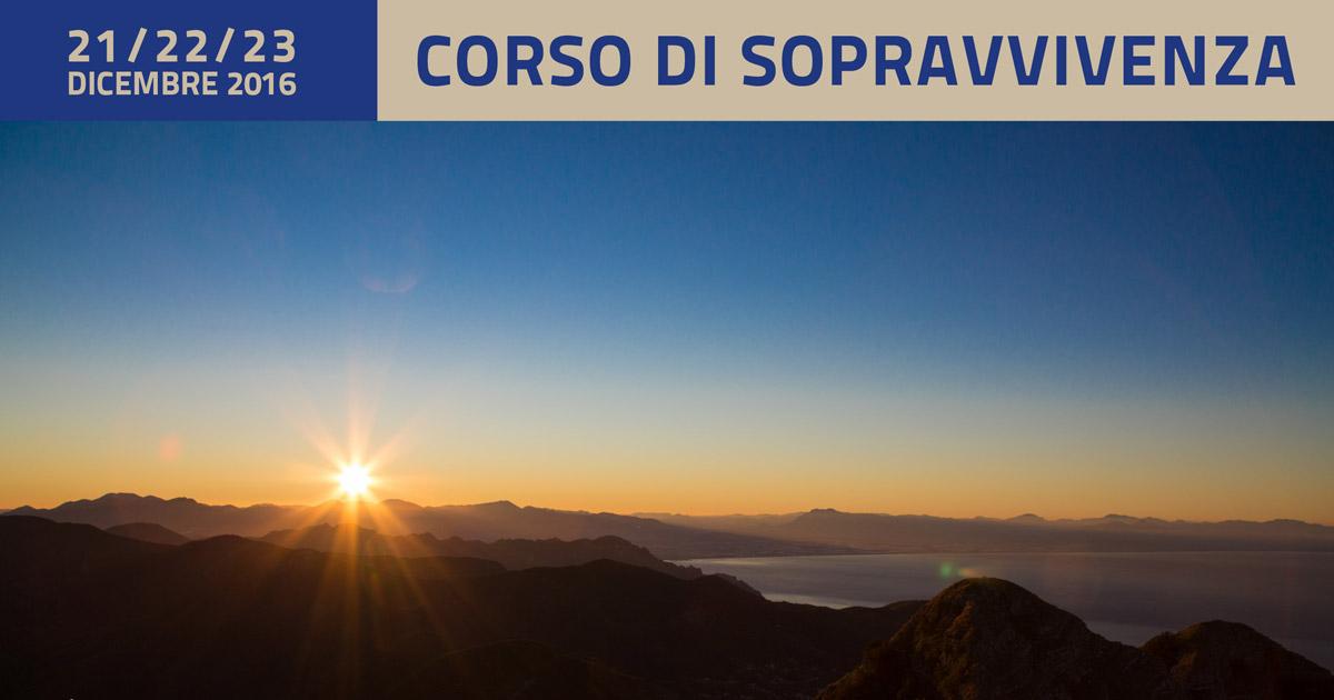 Corso Di Sopravvivenza – Dicembre 2016